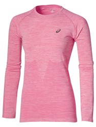 Asics Running Seamless Long Sleeved Top Pink