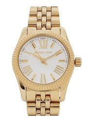 Michael Kors Lexington Thin Gold Tone Watch