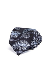Bloomingdale's The Men's Store At Paisley Classic Tie Navy