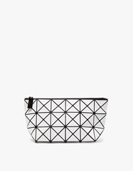 Issey Miyake Lucent Basic Pouch In White
