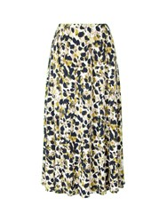 Eastex Magnolia Jersey Skirt Multi Coloured