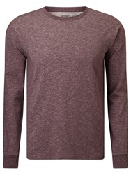 Carhartt Wip Holbrook Crew Neck Jumper Chianti Noise Heather