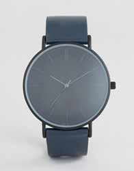 Aldo Serlin Watch Navy Silver