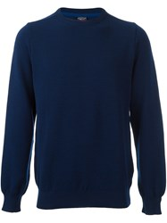 Paul And Shark Loose Fit Arms Pullover Blue