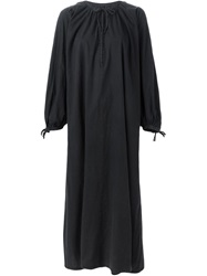 Maison Margiela Vintage Long Peasant Dress Black