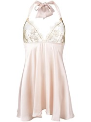 Gilda And Pearl 'Harlow' Babydoll Nude Neutrals