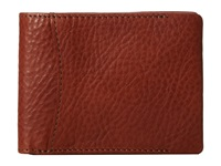 Bosca Correspondent 8 Pocket Deluxe Executive Wallet Chestnut Wallet Handbags Brown