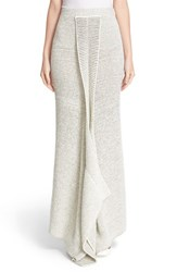 Stella Mccartney Women's Textured Knit Maxi Skirt