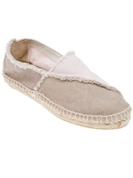 Castaner Bi Colour Espadrille Pink And Purple