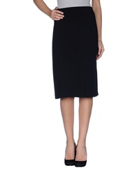 Rena Lange 3 4 Length Skirts Black