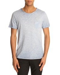 Menlook Label Simon Sky Blue T Shirt