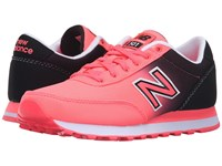 New Balance Wl501 Guava Black Women's Classic Shoes Pink