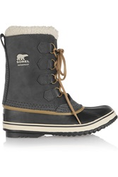 Sorel 1964 Pac Waterproof Suede And Rubber Boots