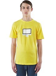 Colo Goodnight Crew Neck T Shirt Yellow