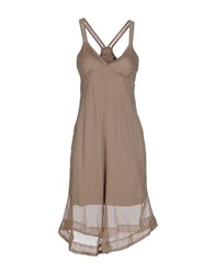 Collection Priv E Dresses Short Dresses Women Dove Grey