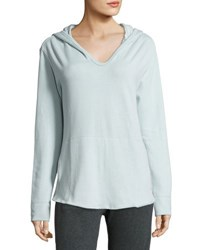 Blu Clover Baja Hooded Cotton Pullover Taupe