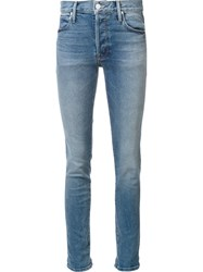 Mother Skinny Jeans Blue