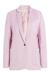 Paul And Joe Linen Blazer Rose