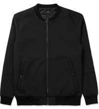 Stampd Black Perforated Neoprene Bomber Jacket Hypebeast Store. Shop Online For Men's Fashion Streetwear Sneakers Accessories