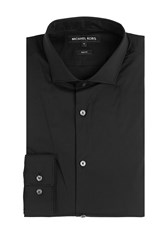 Michael Kors Collection Cotton Shirt Black
