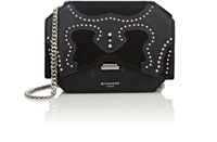 Givenchy Women's Bow Cut Chain Wallet Black