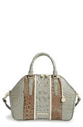 Brahmin Tarama Hudson Leather Satchel