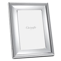 Christofle Perles Picture Frame 4'X6