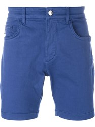 Love Moschino Denim Shorts Blue