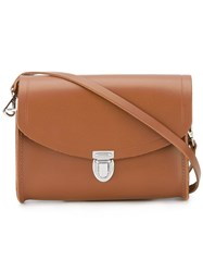 The Cambridge Satchel Company 'Push Lock' Brown