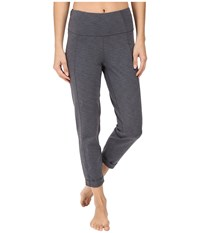 Lucy Strong Is Beautiful Pant Silver Filigree Tonal Heather Women's Casual Pants Gray