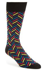 Bugatchi Men's Herringbone Socks