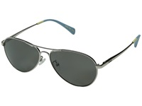Toms Kilgore Polarized Silver Fashion Sunglasses