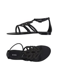 Eden Footwear Sandals Women Black