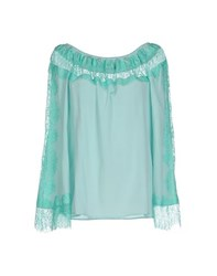 Blumarine Shirts Blouses Women Light Green