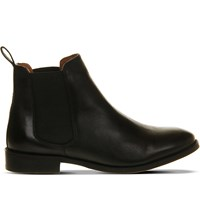 Office Bramble Leather Chelsea Boots Black Leather
