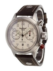 Hanhart 'Pioneer Twin Control' Analog Watch