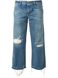 Simon Miller 'Cropped' Jeans Blue