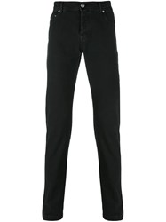 Kiton Slim Fit Jeans Black