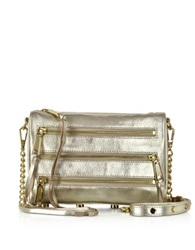 Rebecca Minkoff Mini 5 Zip Crossbody Bag Pewter
