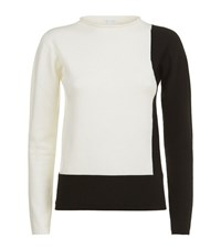 Escada Sport Colour Block Sweater Female White