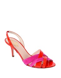 Kate Spade Sasha High Heel Sandals Tomato Red