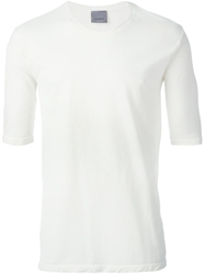 Laneus Half Sleeve T Shirt White