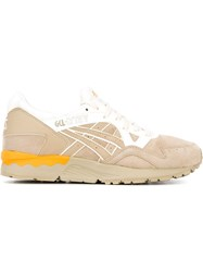 Asics Lace Up Sneakers Nude And Neutrals