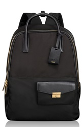 Tumi 'Larkin Portola' Convertible Nylon Backpack Black