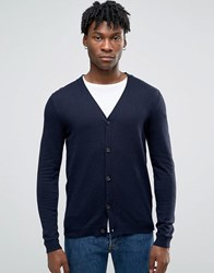 Esprit Cashmere Mix Cardigan Navy 400