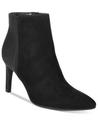 Sam Edelman Circus By Avalon Pointed Toe Booties Women's Shoes Black
