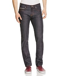 Naked And Famous Superskinny Guy Stretch Selvedge Super Slim Fit Jeans In Indigo
