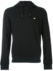 Armani Jeans Hooded Sweatshirt Black