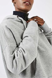 Boutique Cropped Hoody By Grey Marl