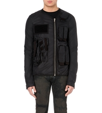 Rick Owens Drkshdw Shell Jacket Black